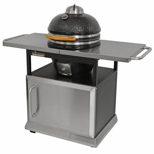 Brinkmann Trailmaster Ceramic Egg Charcoal Grill and Smoker 855-5000-0