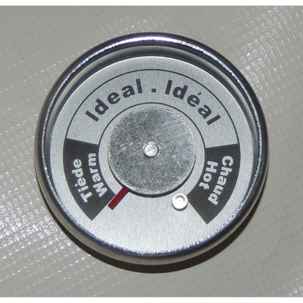 Brinkmann Upright Smoker Temperature Gauge All-In-One Round W/ tabs 072-0006-0