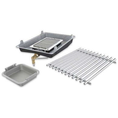 Broil King 18677 Infrared Side Burner Kit in Natural Gas for 2013 and Newer Imperial, Regal, and Baron Series Grills