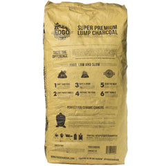 FOGO Super Premium Low and Slow Natural Lump Charcoal for Longer Burns - Bourlier's Barbecue and Fireplace