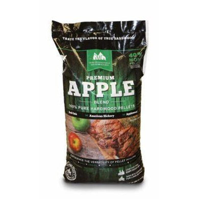 Green Mountain Grills Premium Apple Blend Pellets 28 LB Bag (GMG-2002) - Bourlier's Barbecue and Fireplace