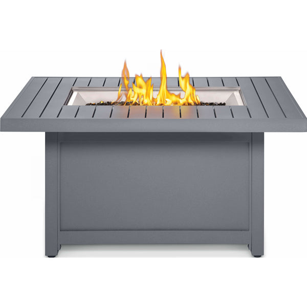 Napoleon Grills HAMP1-GY Hampton Rectangle Patioflame Table