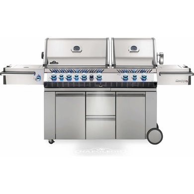 Napoleon Prestige PRO 825 Natural Gas Grill with Infrared Rear Burner, Double Infrared Sear Burner & Side Burner Natural Gas - PRO825RSBINSS-3