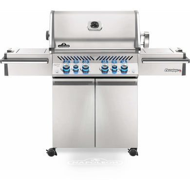 Napoleon Propane Gas Grill Prestige PRO™ Series PRO500RSIB Stainless Steel Infrared Rear & Side Burners - PRO500RSIBPSS-3
