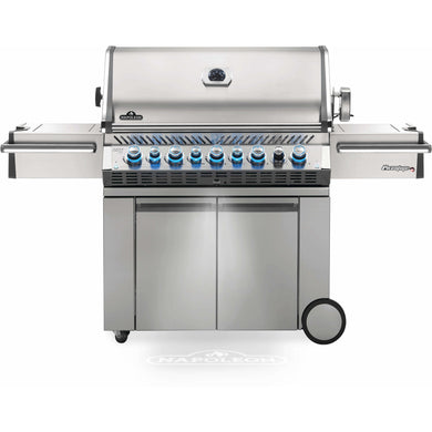 Napoleon Propane Gas Grills Prestige PRO™ 665 with Infrared Rear and Side Burners - PRO665RSIBPSS-3