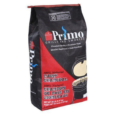 Primo Natural Lump Charcoal, 20-Pound bag - Bourlier's Barbecue and Fireplace