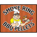 Smoke Ring BBQ Pellets 40 LB Bag OHC Blend ( Oak / Hickory / Cherry ) 100% Hardwood