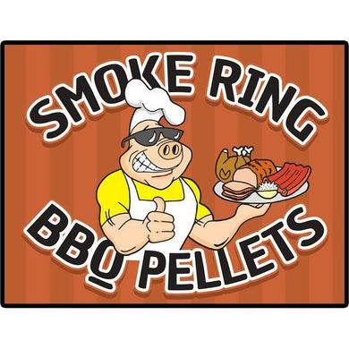 Smoke Ring BBQ Pellets 40 LB Bag OHC Blend ( Oak / Hickory / Cherry ) 100% Hardwood - Bourlier's Barbecue and Fireplace