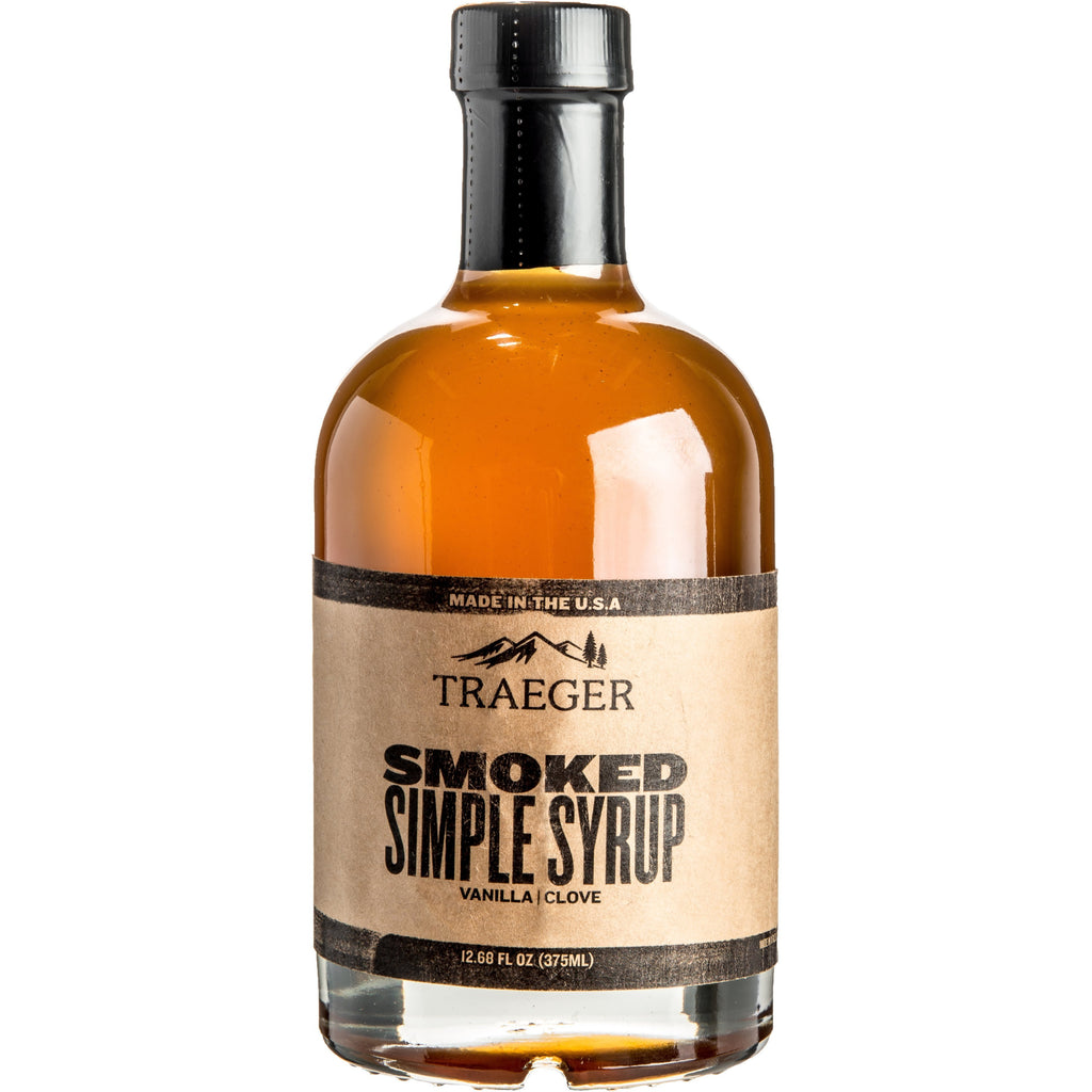 Traeger Grills MIX001 Smoked Simple Syrup 375 ML