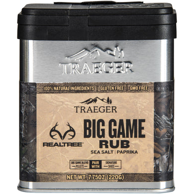 Traeger Grills SPC180 Realtree Big Game Rub