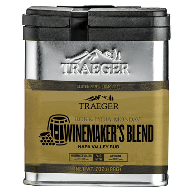 Traeger Grills SPC192 Winemakers Blend Rub - Bourlier's Barbecue and Fireplace