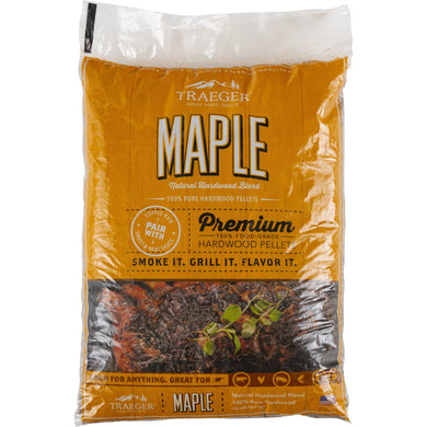 Traeger PEL308 Maple Pellets 20 LB Bag