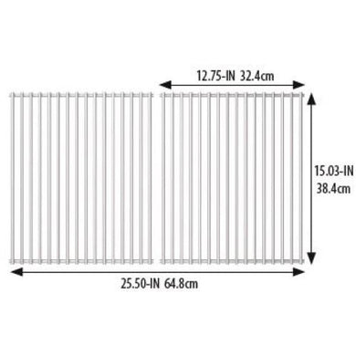 Broil King Stainless Steel Cooking Grids for Crown and Signet 18652