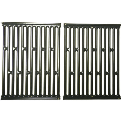 Music City Metals 58682 Porcelain Steel Cooking Grid Replacement for Select Kenmore and Weber Gas Grill Models Like 7523, Set of 2