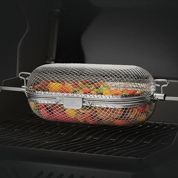 Napoleon Grills 64000 Stainless Steel Rotisserie Grill Basket - Bourlier's Barbecue and Fireplace