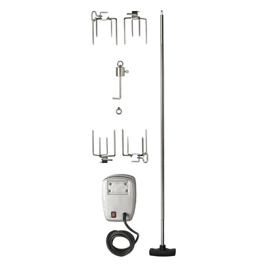 Napoleon Grills 69231 Commercial-Grade Rotisserie Kit (for Large Grills)