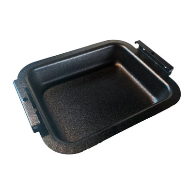 Broil King Replacement Grease Tray 6.5 in x 5.125 in (Black Matte Powder Finish)