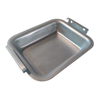 Broil King Replacement Grease Tray 6.5 in x 5.125 in (Silver Steel Finish)