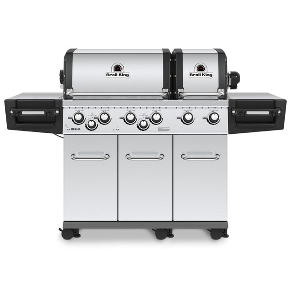 Broil King Regal XLS Pro Stainless Steel Natural Gas Grill - Bourlier's Barbecue and Fireplace