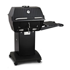 Broilmaster Charcoal BBQ Package with Base and Side Shelf (C3PK1) -Floor Model