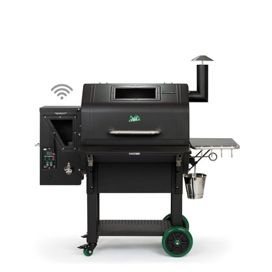 Green Mountain Grills Daniel Boone Prime Plus WiFi Enabled - Black - Bourlier's Barbecue and Fireplace