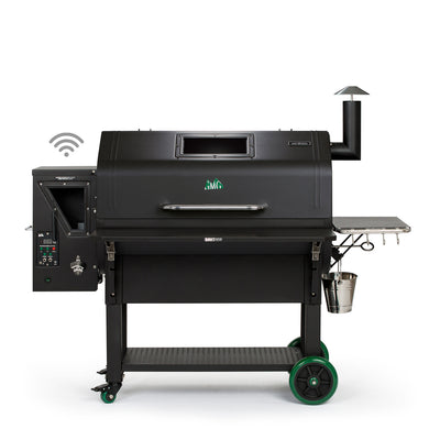 Green Mountain Grills Jim Bowie Prime Plus WiFi Enabled - Black - Bourlier's Barbecue and Fireplace