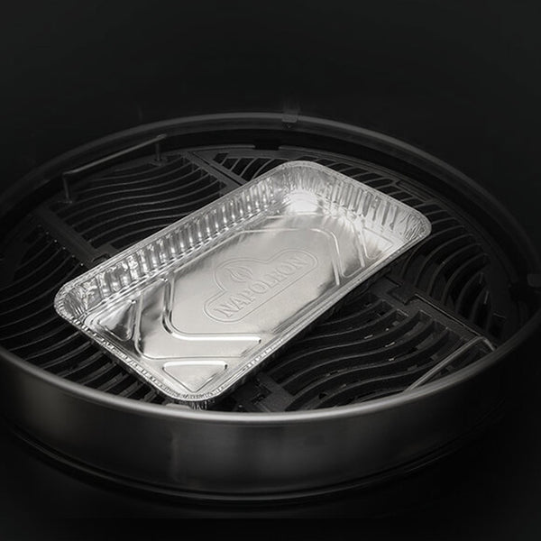 "Napoleon Grills 62008 Large Grease Drip Trays - 14"" x 8"" (5 Count)"