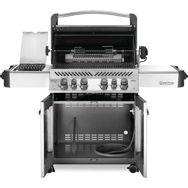 Napoleon Grills Prestige® 500 Propane Gas Grill with Infrared Side and Rear Burners, Stainless Steel