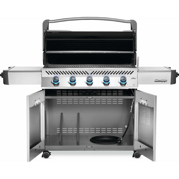 Napoleon Grills Prestige® 665 Propane Gas Grill, Stainless Steel - Bourlier's Barbecue and Fireplace