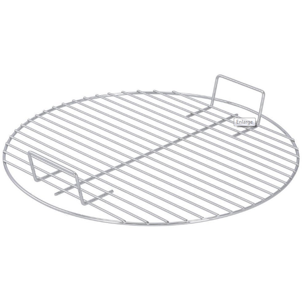 "Premium Brinkmann Replacement 15.75"" Round Chrome Cooking Grill with Handles Like 115-0003-0"