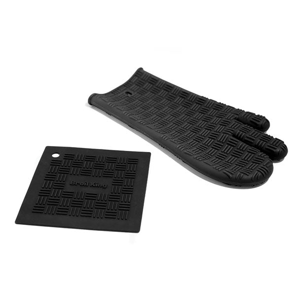 Broil King 60973 Oven Mitt and Trivet
