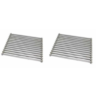 MHP Set of 2 MHP Stainless Steel Cooking Grids for WNK, TJK Gas Grills also PGS K40