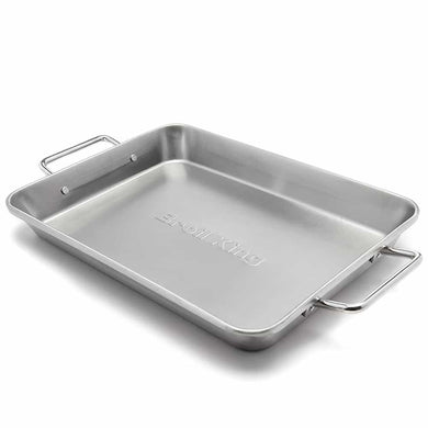 Broil King 63105 Stainless Steel Roasting Pan - Bourlier's Barbecue and Fireplace
