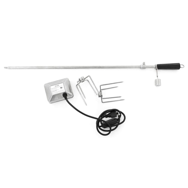 "Blaze Outdoor Products Stainless Steel Rotisserie Kit for 40"" 5-Burner Grills"