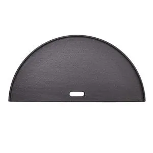 Kamado Joe Half Moon Cast Iron Reversible Griddle for Big Joe - BJHCIGRIDDLE - Bourlier's Barbecue and Fireplace