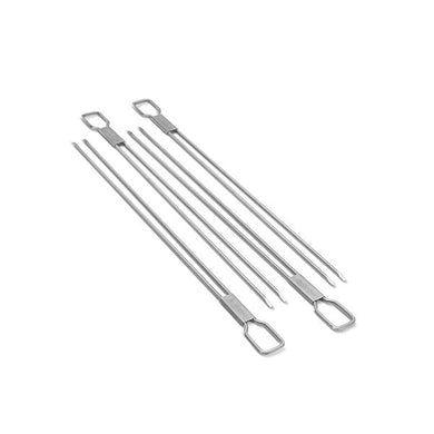 Broil King 64049 Dual Prong Grilling Skewers (Set of 4)