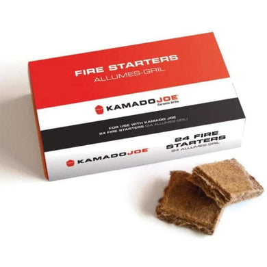 Kamado Joe Fire Starters - 24 Count - Bourlier's Barbecue and Fireplace