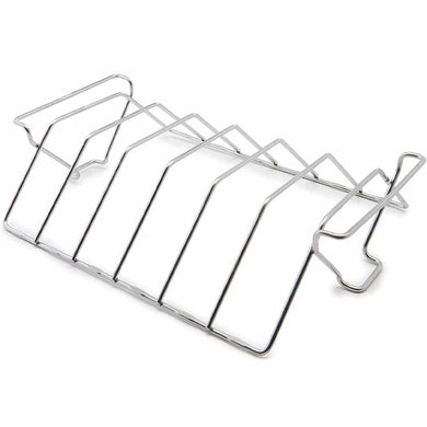 GrillPro 41616 Stainless Rib & Roast Rack - Bourlier's Barbecue and Fireplace