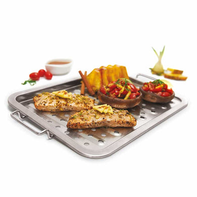 GrillPro 97125 Stainless Grill Topper - Bourlier's Barbecue and Fireplace