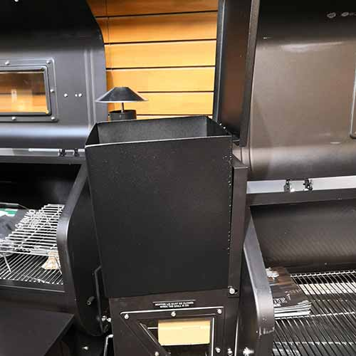 Pellet Grill Hopper Extension with Lid fits Traeger and Green Mountain Grills - Bourlier's Barbecue and Fireplace