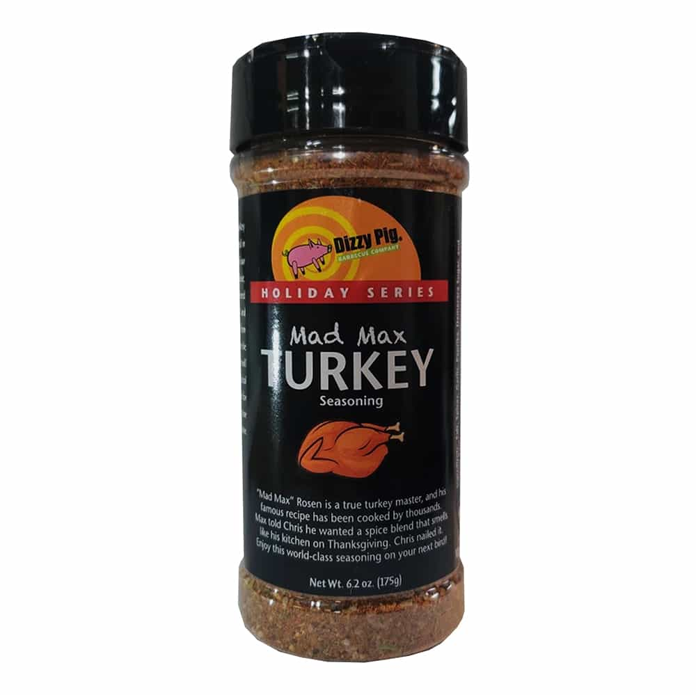 Dizzy Pig Mad Max Turkey Seasoning
