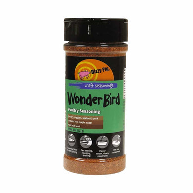 Dizzy Pig Wonder Bird Poultry Seasoning - 80z