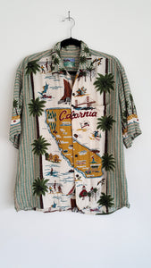 Vintage California Button Up