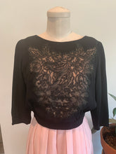 Load image into Gallery viewer, 1920's Lace Overlay Blouse