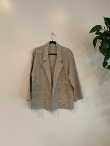 Neutral Lightweight Blazer