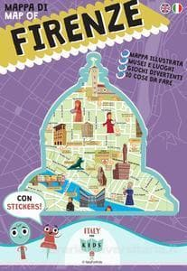 Mappa di Firenze Illustrata - Italy for Kids - Tabata Shop