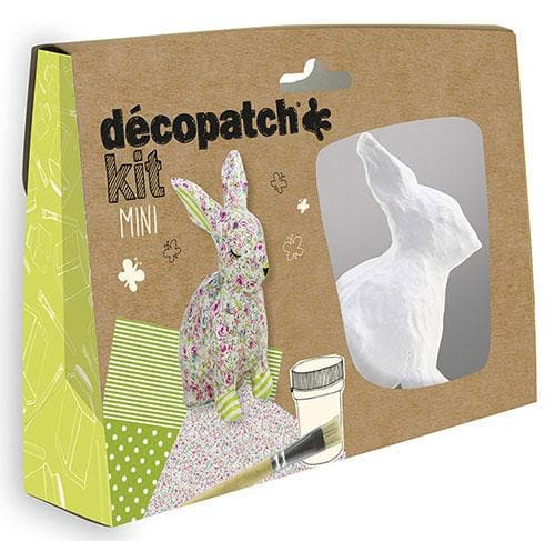 Kit Decoupage Mini Coniglio - Decopatch