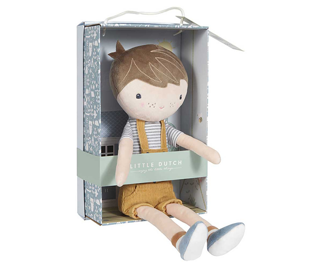 Bambola Morbida Jim 35 cm - Little Dutch - Tabata Shop
