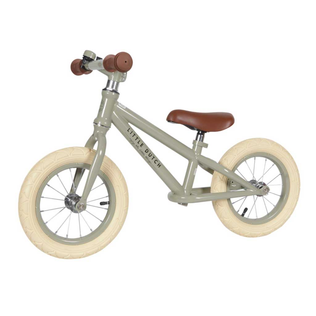 Balance Bike Olive - Little Dutch