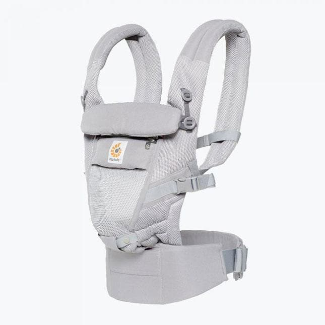 Ergobaby ADAPT AIR Pearl Grey – Marsupio ergonomico Regolabile - Tabata Shop